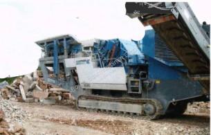 Britadeira, reciclagem trituração