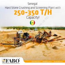 Concasare, reciclare Fabo STATIONARY CRUSHING & SCREENING PLANT 250-350 TPH concasare accidentat