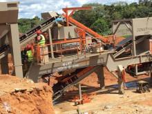 Britadeira, reciclagem Constmach 120 Ton Capacity Mobile Crusher Plant - Immediate Delivery from Stock trituração novo