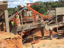Britadeira, reciclagem Constmach Usine de concassage mobile d'une capacité de 120 tonnes trituração novo