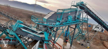 Дробильная установка Constmach Crible Vibrant 1,6 X 5 Mètres - Capacité 150 Tph