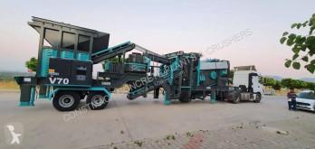 Concasare, reciclare Constmach Installation de fabrication de sable mobile V-70 - Fabrication de sable entièrement automatique concasare nou