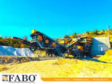 Trituración, reciclaje trituradora Fabo MVSI-900 CONCASSEUR MOBILE POUR PRODUIRE DU SABLE