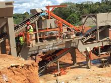 Concasseur Constmach Usine de concassage mobile d'une capacité de 120 tonnes