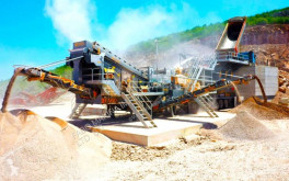 Concasseur Fabo PRO-150 MOBILE CRUSHING SCREENING PLANT WITH WOBBLER FEEDER