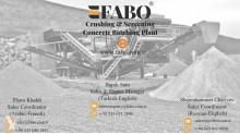 Fotoğrafları göster Öğütme/ufalama, geri dönüştürme Fabo FABO PRO SERIES CONCASSEUR MOBILE POUR CALCAIRE ET MARBRE
