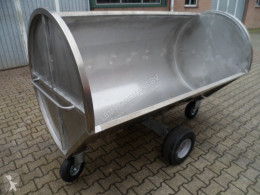 / mestwagen RVS used Manure spreader