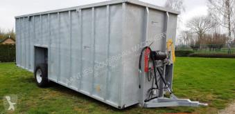 Rozhadzovanie Rozhadzovač maštaľného hnoja nc RDW gekeurde Agomac mestcontainer neuf