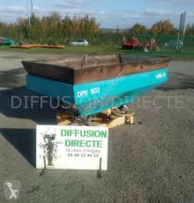 Rozhadzovanie Sulky distributeur d'engrais dpx 803 Rozhadzovač hnojiva ojazdený