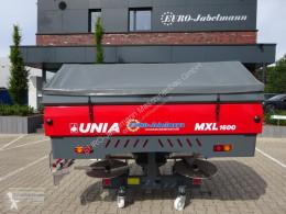 Unia 2-Scheiben Düngerstreuer MXL 1600, NEU, Streubreite bis 36 m, 1600 Ltr. Behälter, Einführungspreis! Distributeur d'engrais neuf