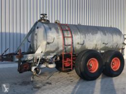 Espalhamento Espalhador de adubo barril com bico traseiro Garant Tandem 7cbm