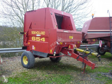 New Holland 654 used Round baler