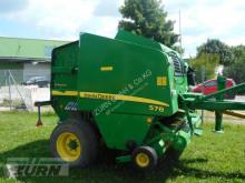 John Deere 578 Premium Press med runda balar begagnad