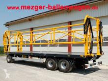 Platou de furajare nc Ballenwagen mit hydr. Seitenwand - Ballenanhänger