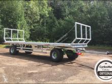 MD Landmaschinen CYNKOMET Ballentransportwagen/ Ballenwagen T-608 14T EU MODELL-EU-Zulassung Foderflak ny