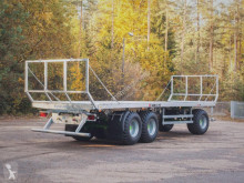 MD Landmaschinen Cynkomet Ballenwagen T-608/3 19T NEUES MODEL!!!-EU-Zulassung Foderflak ny