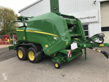 John Deere Press med runda balar begagnad
