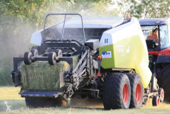 Press hög densitet Claas Quadrant 3200 RC mit Häcksler und Ballenstapler
