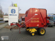 New Holland 658 Press med runda balar begagnad