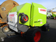 Claas Round baler ROLLANT 374 RC PRO