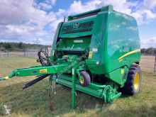 John Deere 990 Press med runda balar begagnad
