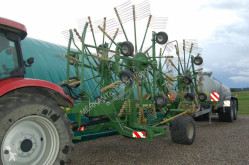 Žací stroj dvojitý boční rotor Krone Swadro 1400