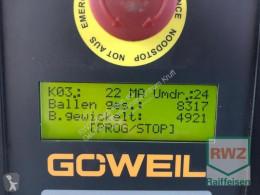 Kosenie lúk a sušenie sena Lis na okrúhle balíky Göweil G1F125