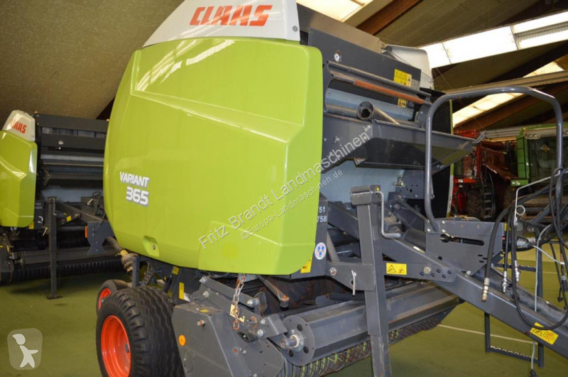 View images Claas Variant 365 RC haymaking