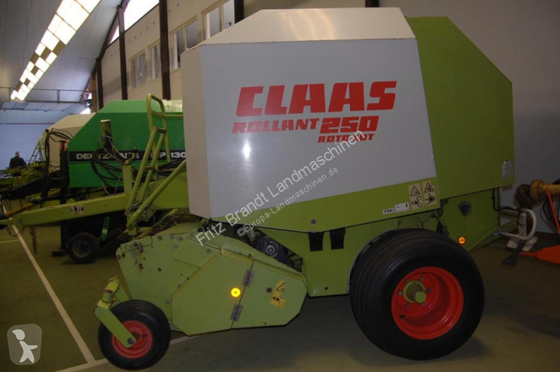 View images Claas Rollant 250 RC haymaking