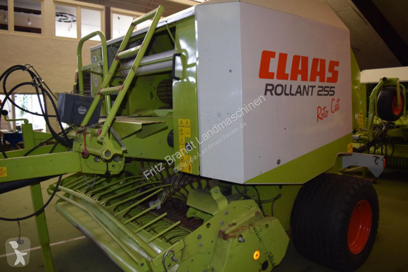 View images Claas Rollant 255 RC haymaking