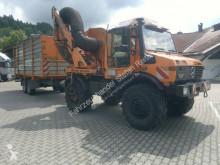 Unimog U 1600 (427/52-114) Mulag SB500V Fliegl TPS 100 Tondeuse occasion