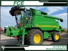 John Deere T 550 i *ACCIDENTE*DAMAGED*UNFALL* used Combine harvester