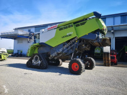 Claas Lexion 670 Montana Allrad Vollhangausgleich Moissonneuse-batteuse occasion