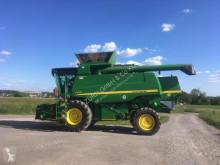 حصاد آلة حصاد ودرس مع دوّار John Deere C670 HM