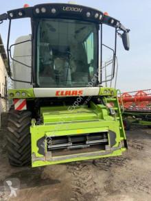 حصاد آلة حصاد ودرس مع دوّار Claas Lexion 750