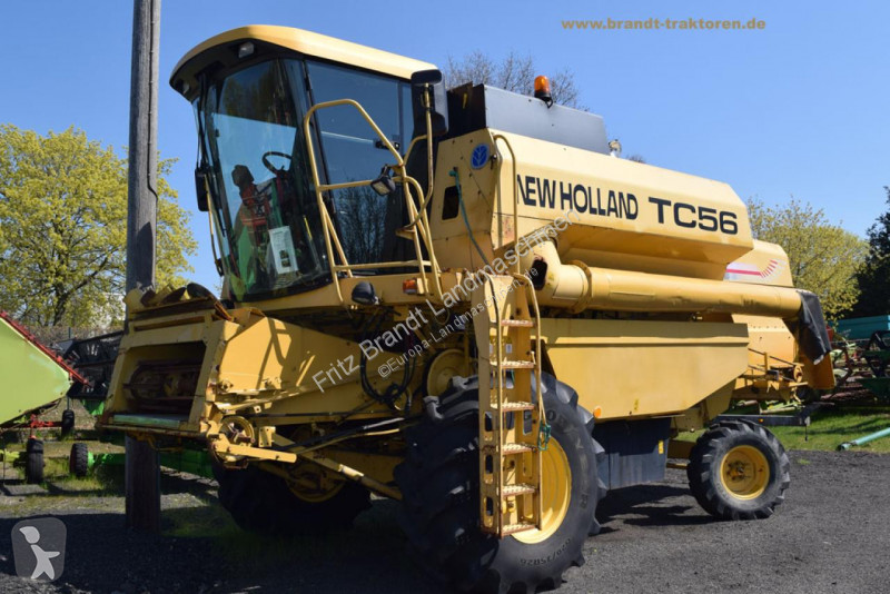 View images New Holland TC 56 harvest