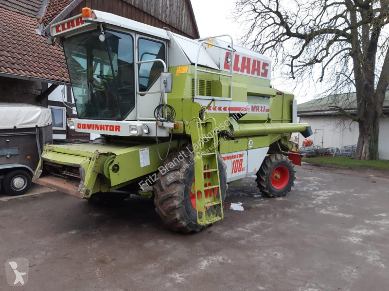 View images Claas Dominator 108 SL Maxi harvest