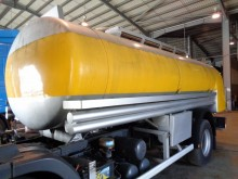 Equipamientos carrocería cisterna Scania CISTERNA COMBUSTIVEL ALUMINIO