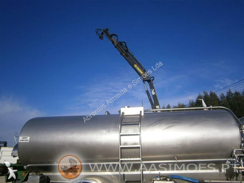 Zobaczyć zdjęcia Wyposażenie ciężarówek Volvo CISTERNA INOX