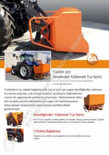 Teherautó felszerelések GALEN TUZ SERİCİ(SALT SPREADER) neuf új