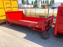 تجهيزات الآليات الثقيلة CONTAINER PER INERTI APERTO CON UNICA PORTA POSTER هيكل العربة صندوق قلاّب متعدد الأغراض مستعمل