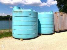 CISTERNA D'ACQUA USATA IN PLASTICA CONTENITORE D'A Cisterna, cuba, depósito de agua usada