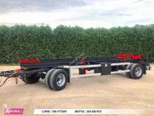 Rimorchio 20R BALESTRATO SCARRABILE trailer used BDF