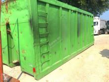 تجهيزات الآليات الثقيلة CONTAINER PER INGOMBRANTI SENZA COPERCHIO CON GANC هيكل العربة صندوق قلاّب متعدد الأغراض مستعمل