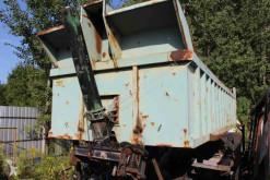 تجهيزات الآليات الثقيلة Benne basculante هيكل العربة حاوية مستعمل