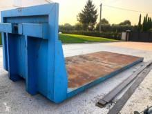 Carrosserie caisse polybenne CONTAINER A PIANALE IN FERRO SENZA SPONDE CON TRAV