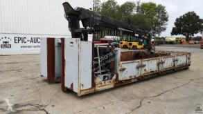 Container Container met autolaadkraan