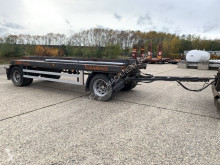 CONTAINER CHASSIS + KIPPER - BELGISCHE PAPIEREN / PORTE CONTAINER + BASCULANTE - PAPIERS BELGES trailer new container