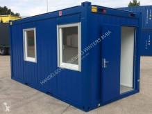 4,9 x 2,4m - 16ft Bureaucontainers contentor usada