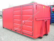 Combi 20ft op slede container occasion